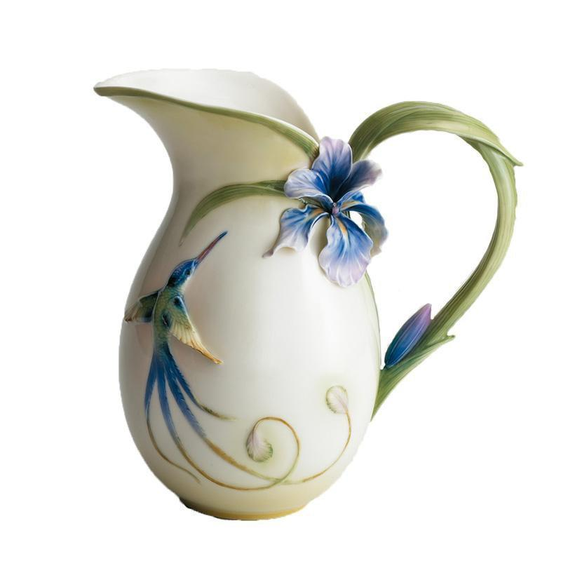 Franz Collection Longtail Hummingbird Vase FZ00131