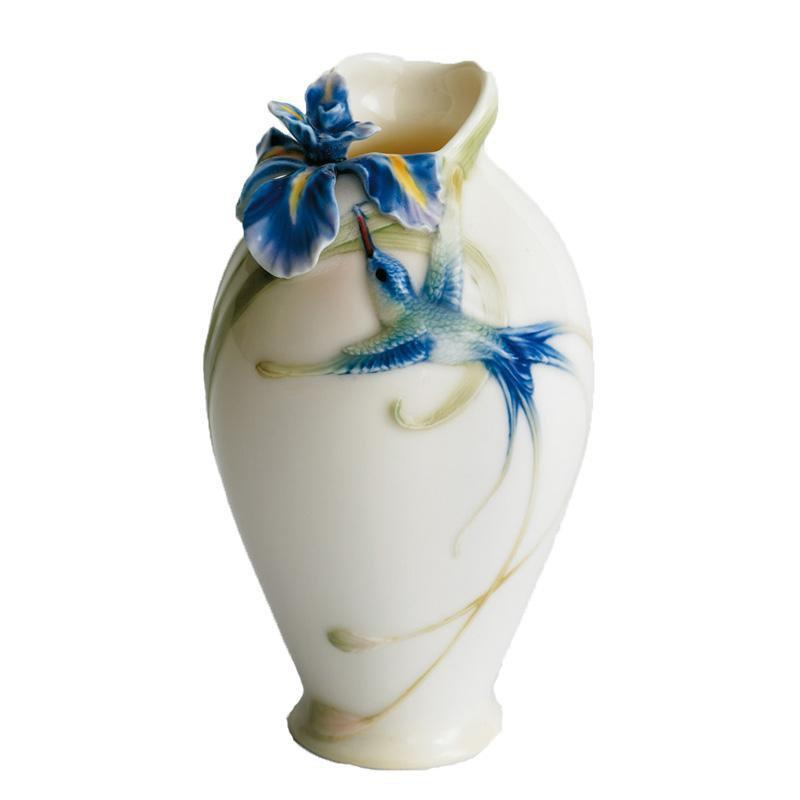 Franz Collection Longtail Hummingbird Vase FZ00246