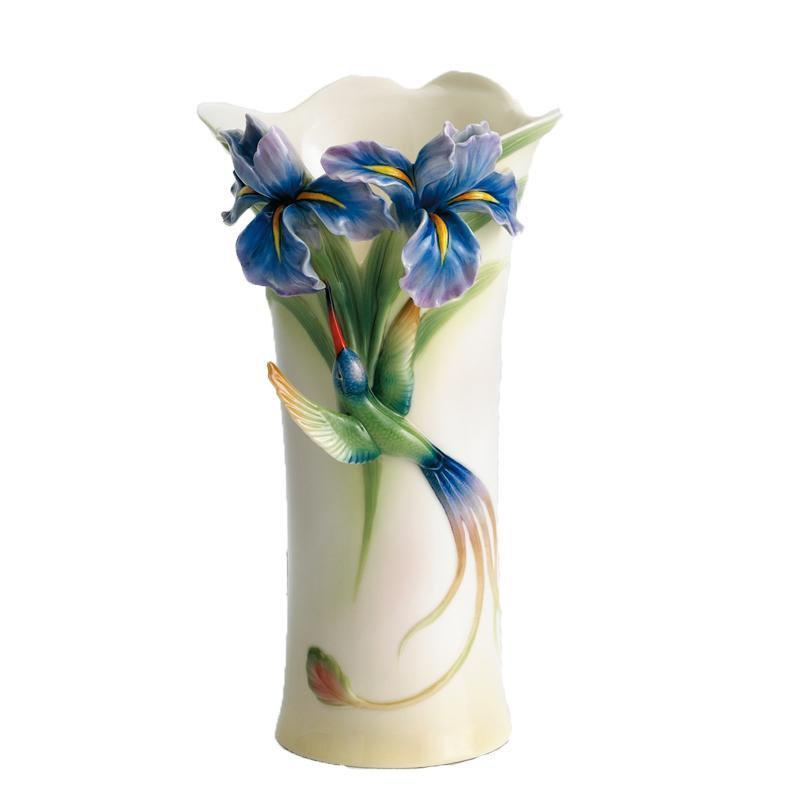 Franz Collection Longtail Hummingbird Vase FZ01203