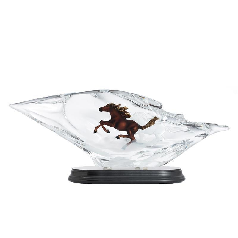 Franz Collection Lucite Horse Figurine FL00110