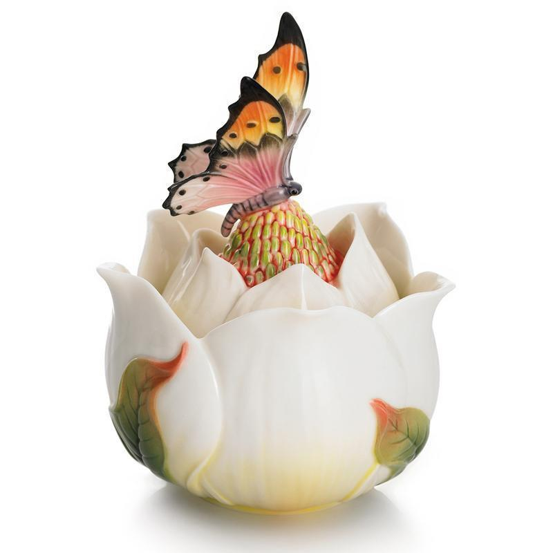 Franz Collection Magnolia Lidded Box FZ01675