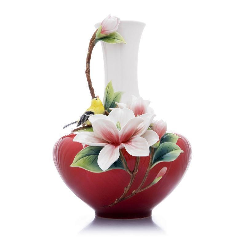 Franz Collection Magnolia Oriole Vase FZ03609