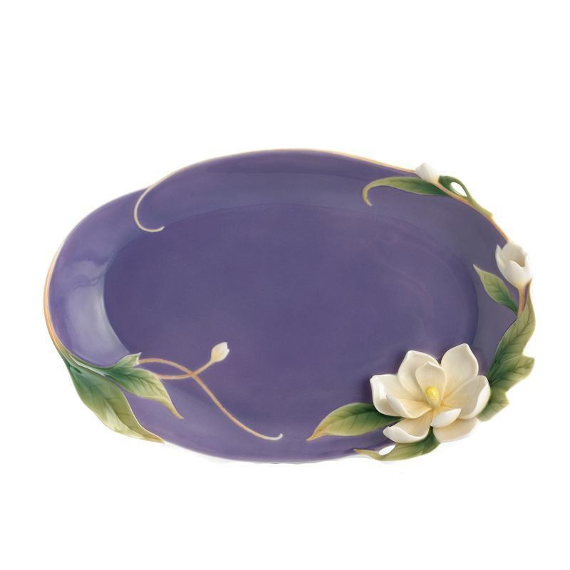 Franz Collection Magnolia Platter FZ01536