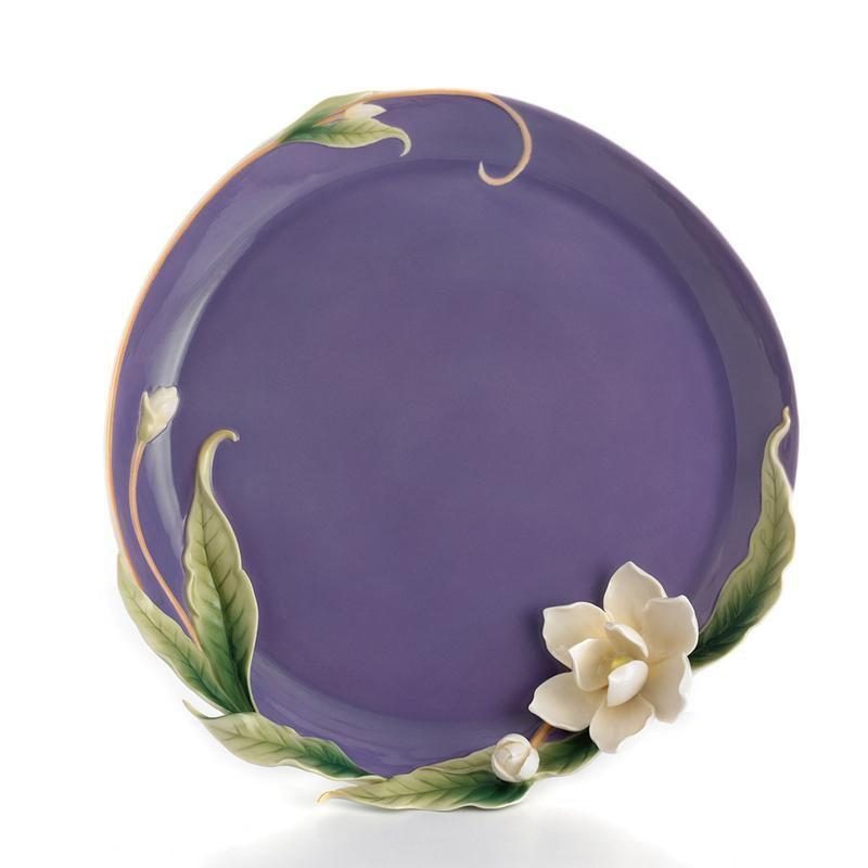 Franz Collection Magnolia Platter FZ01543