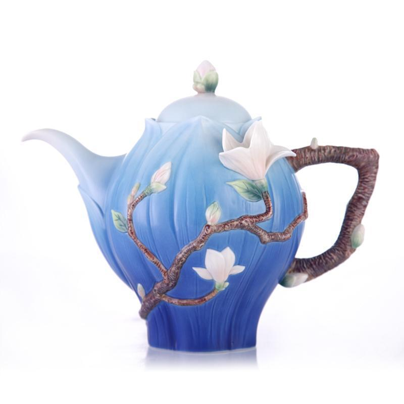 Franz Collection Magnolia Teapot FZ03465
