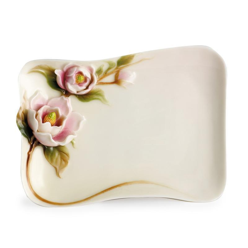 Franz Collection Magnolia Vanity Tray FZ00531