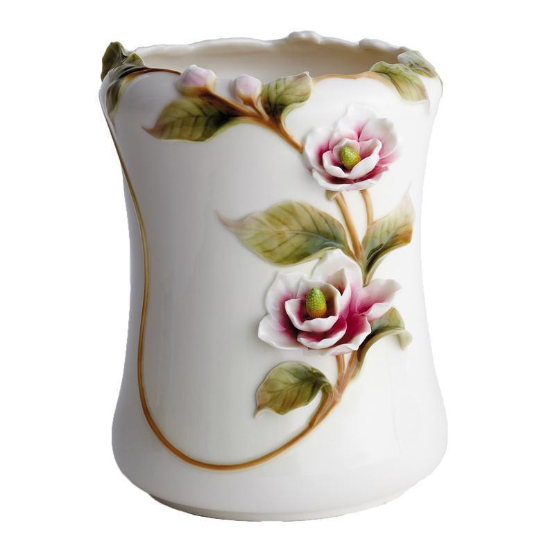 Franz Collection Magnolia Waste Bin FZ00532