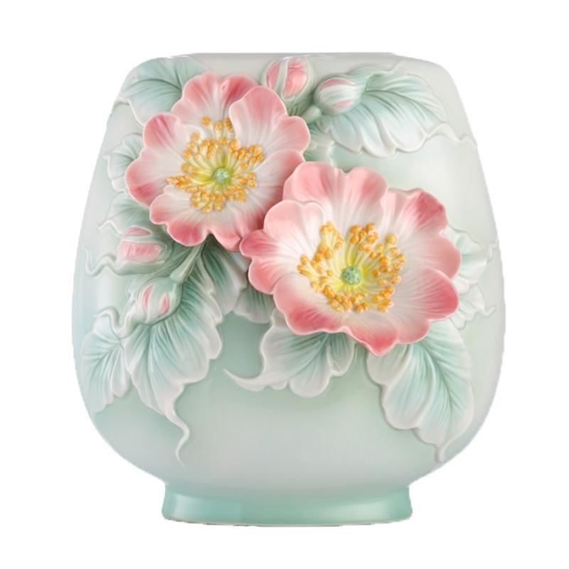 Franz Collection Memory Of Love Rose Vase FZ03133