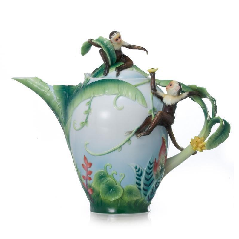 Franz Collection Monkey Mischief Teapot FZ02006