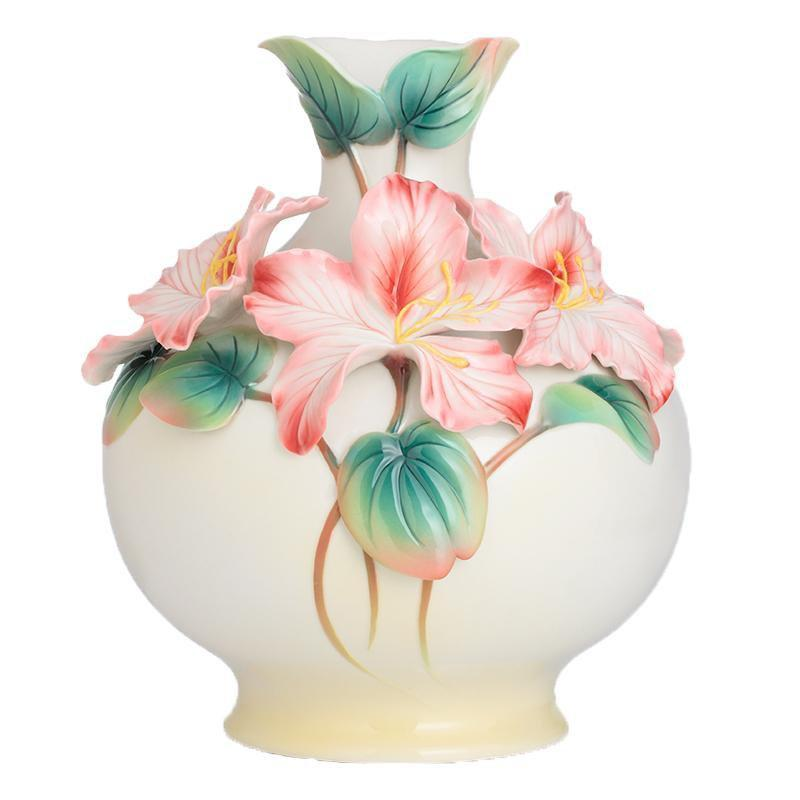 Franz Collection Mountain Orchid Medium Vase FZ02756