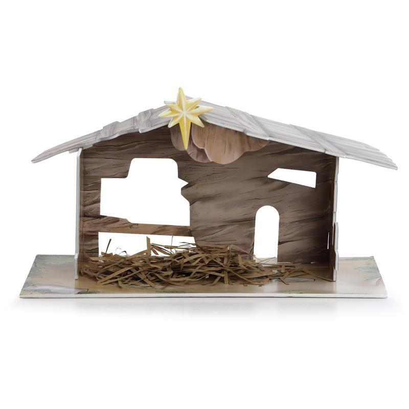 Franz Collection Nativity Stable Figurine FZ01889