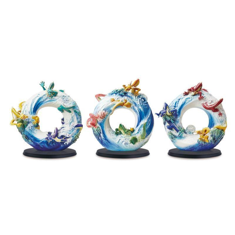 Franz Collection Nine Dragons Figurine Set FZ03627