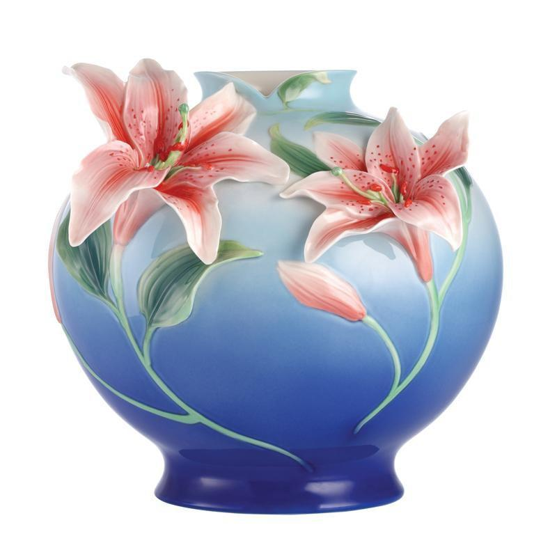 Franz Collection Numerous Blessings Lily Vase FZ03093