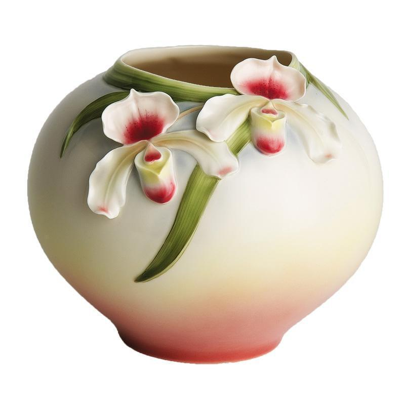 Franz Collection Orchid Bowl Vase FZ00280