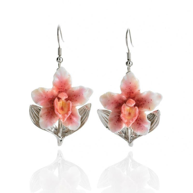 Franz Collection Orchid Earrings FJ00112