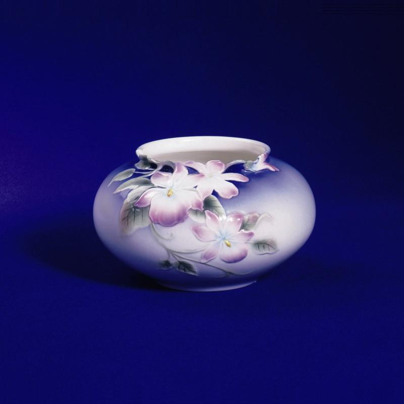 Franz Collection Pansy Round Vase XP1900