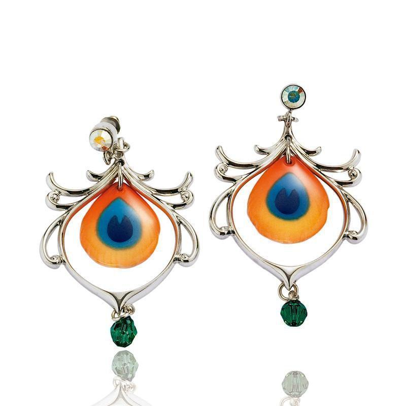 Franz Collection Peacock Earrings FJ00073