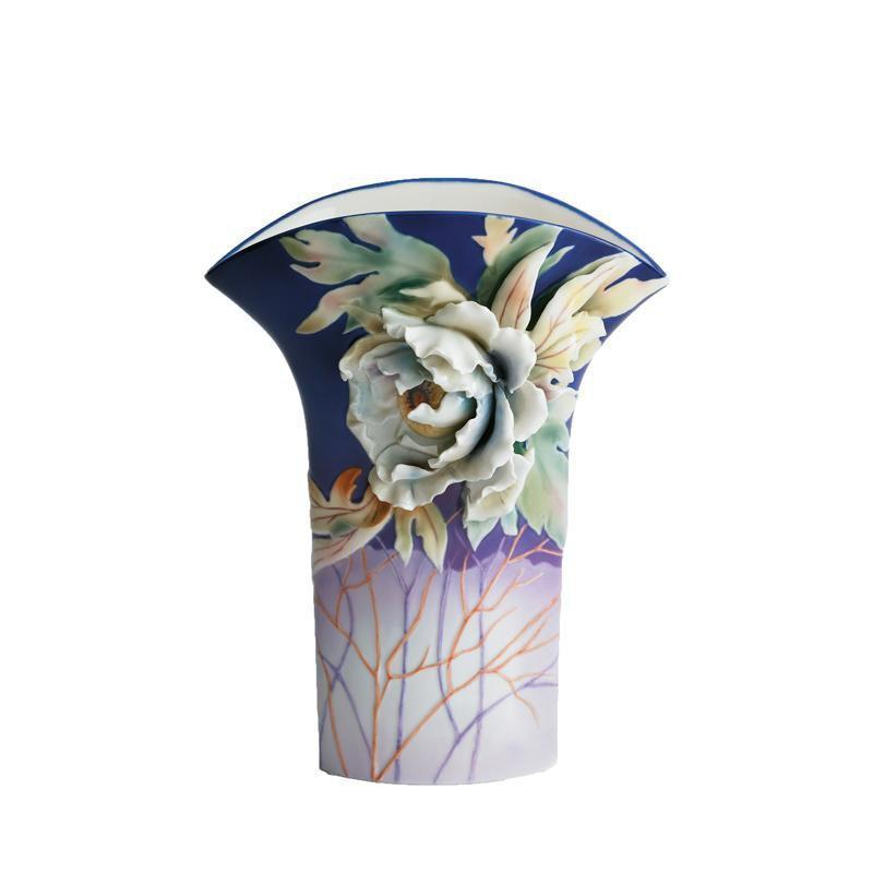 Franz Collection Peony Flower Vase FZ00967