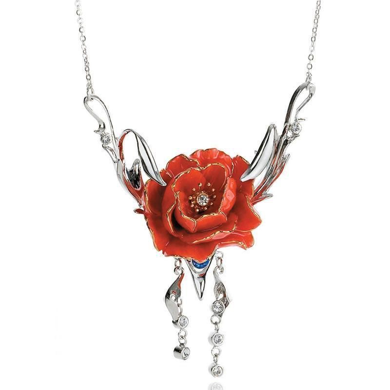 Franz Collection Peony Necklace FJ00105