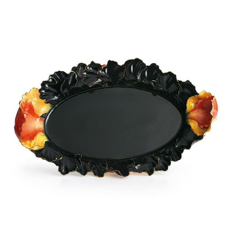 Franz Collection Peony Serving Tray FZ01164