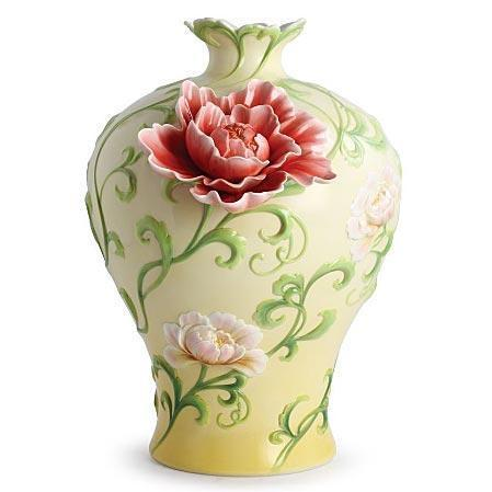Franz Collection Peony Vase FZ02980