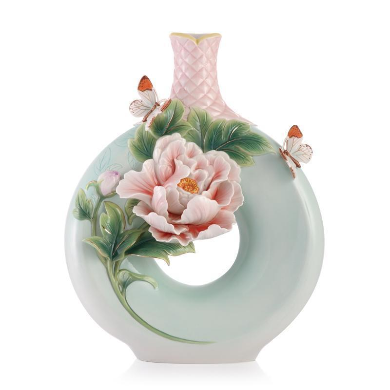 Franz Collection Peony Vase FZ03418