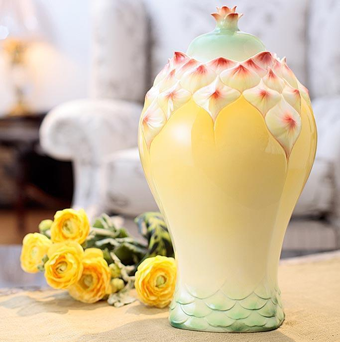 Franz Collection Pineapple Vase FZ02856