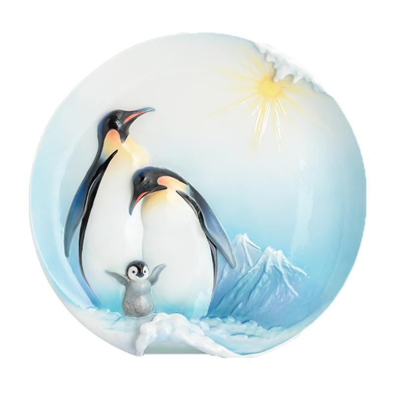 Franz Collection Playful Penguins Large Tray FZ02114