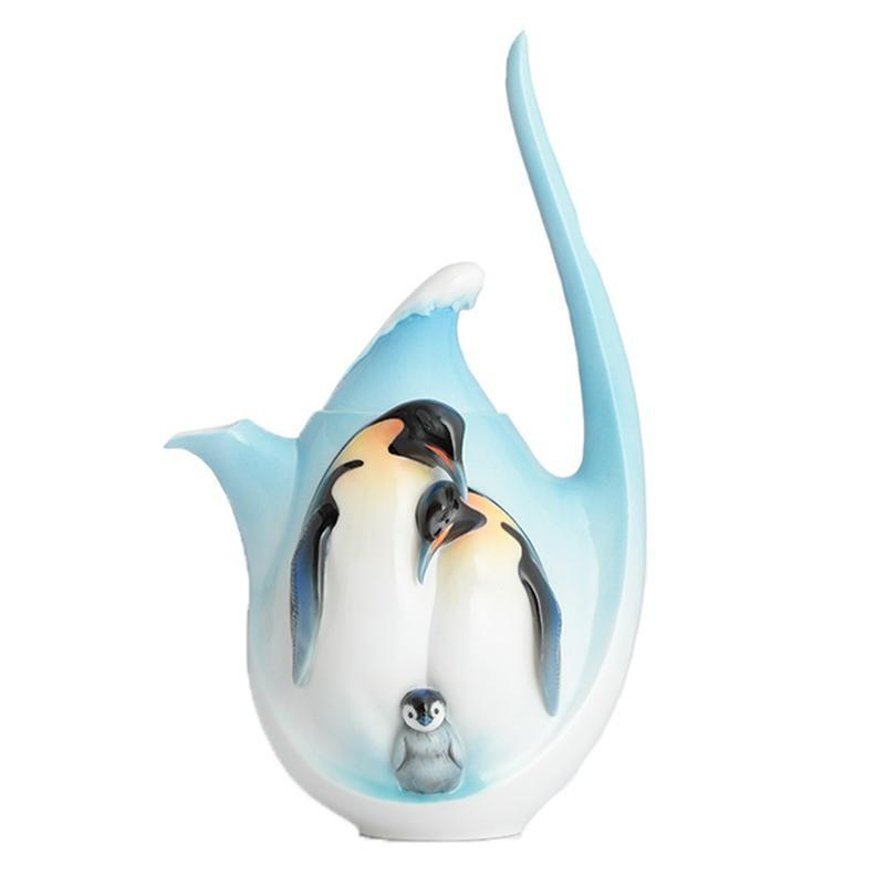 Franz Collection Playful Penguins Teapot FZ02116