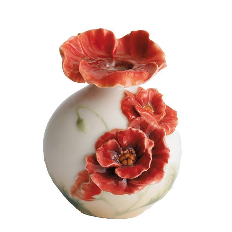 Franz Collection Poppy Topper Small Vase FZ01148