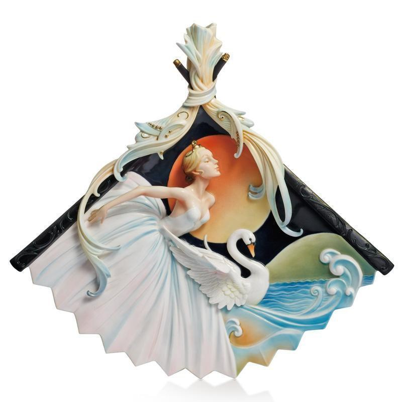 Franz Collection Prima Ballerina Wall Plaque FZ02139