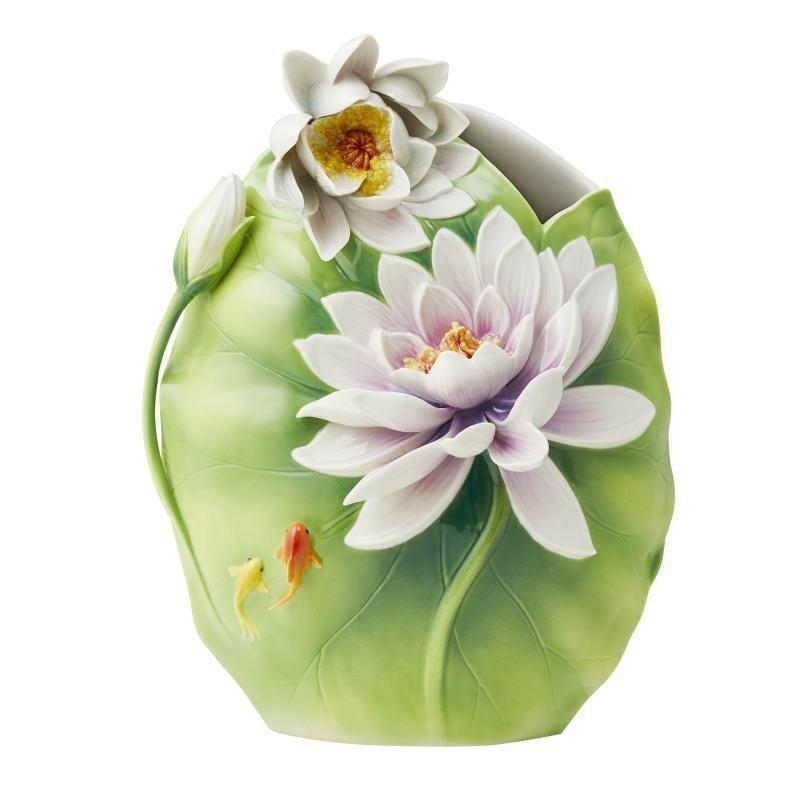 Franz Collection Pure Grace Water Lily Vase FZ03719