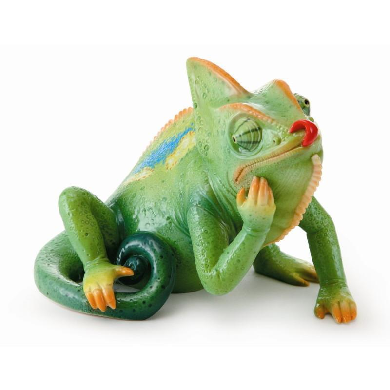 Franz Collection Rain Forest Little Dwellers Chameleon Lizard Figurine FZ02015