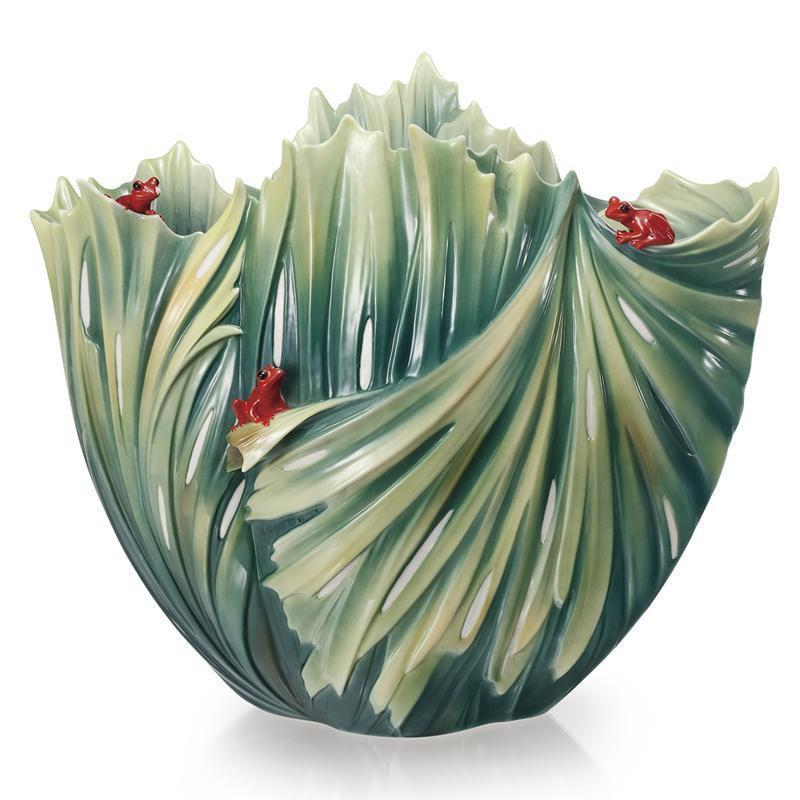 Franz Collection Rain Forest Vase FZ02071