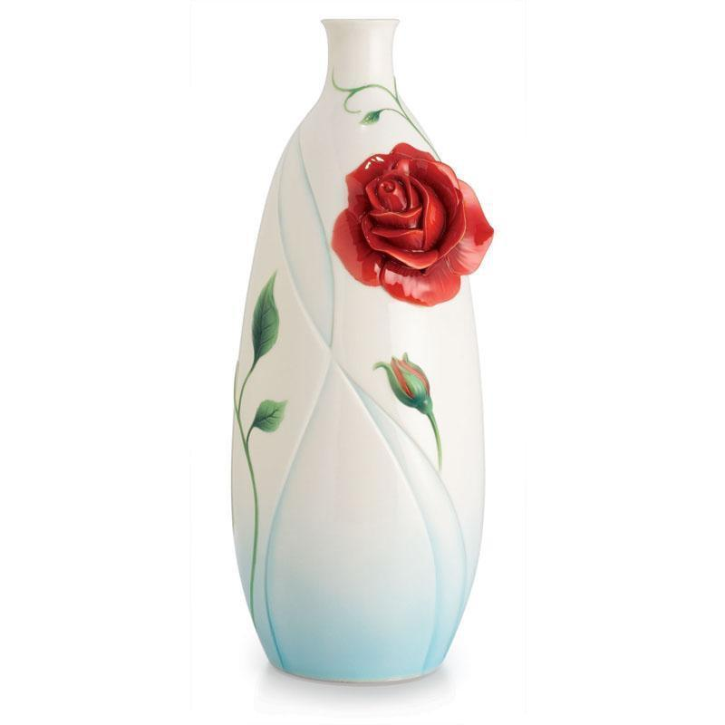 Franz Collection Romance Of The Rose Large Vase FZ02659
