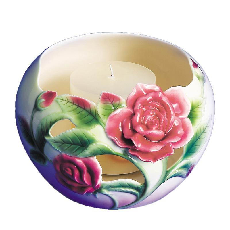 Franz Collection Rose Candleholder FZ00242