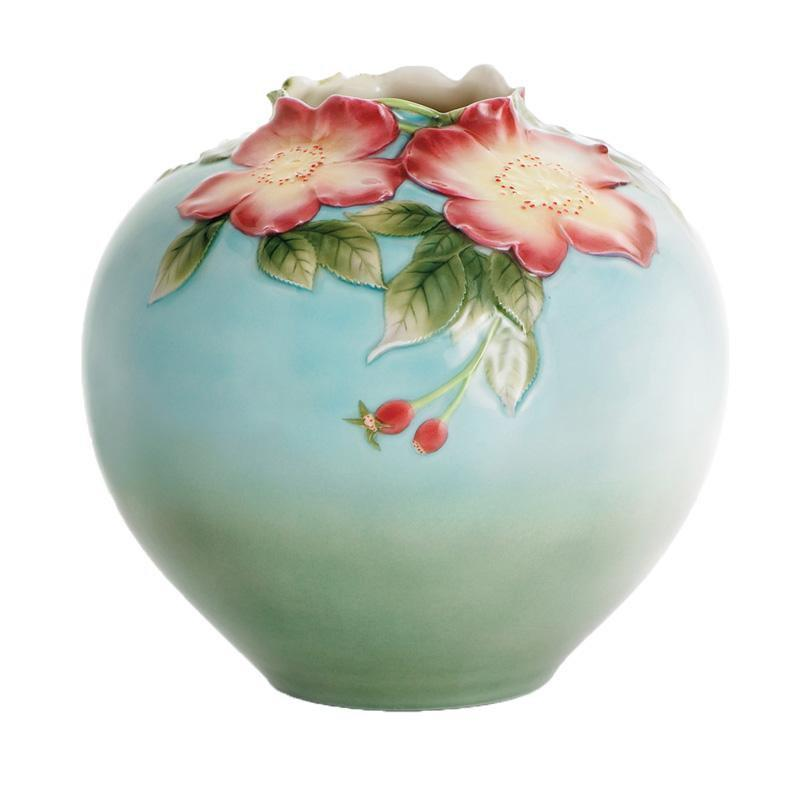 Franz Collection Rose Moss Vase FZ00114
