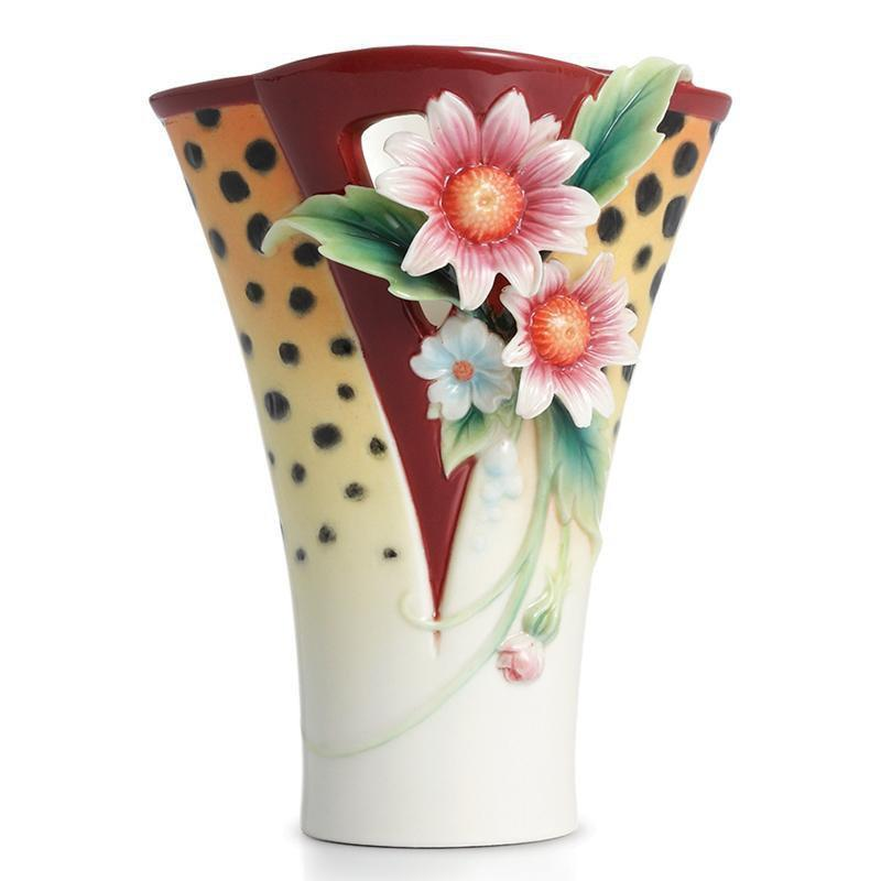 Franz Collection Safari Cheetah Vase FZ02206