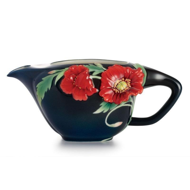 Franz Collection Serenity Poppy Flower Creamer FZ02473