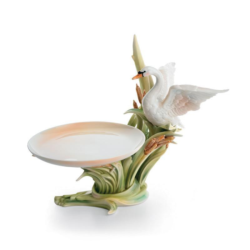 Franz Collection Southern Splendor Swan Candy Dish FZ01572