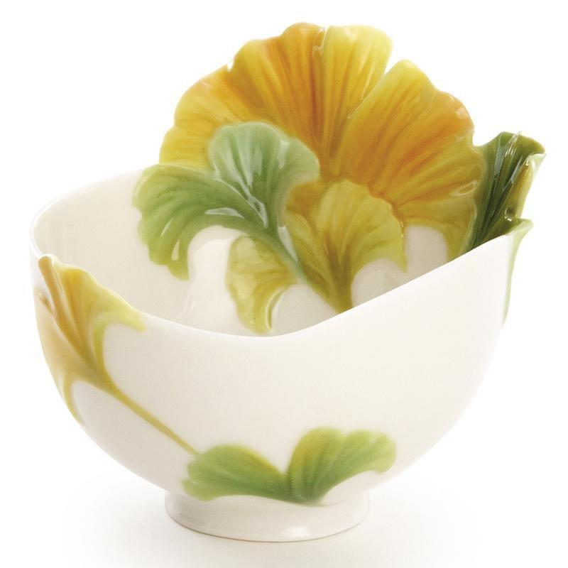 Franz Collection Spa Gingko Bowl FZ01931