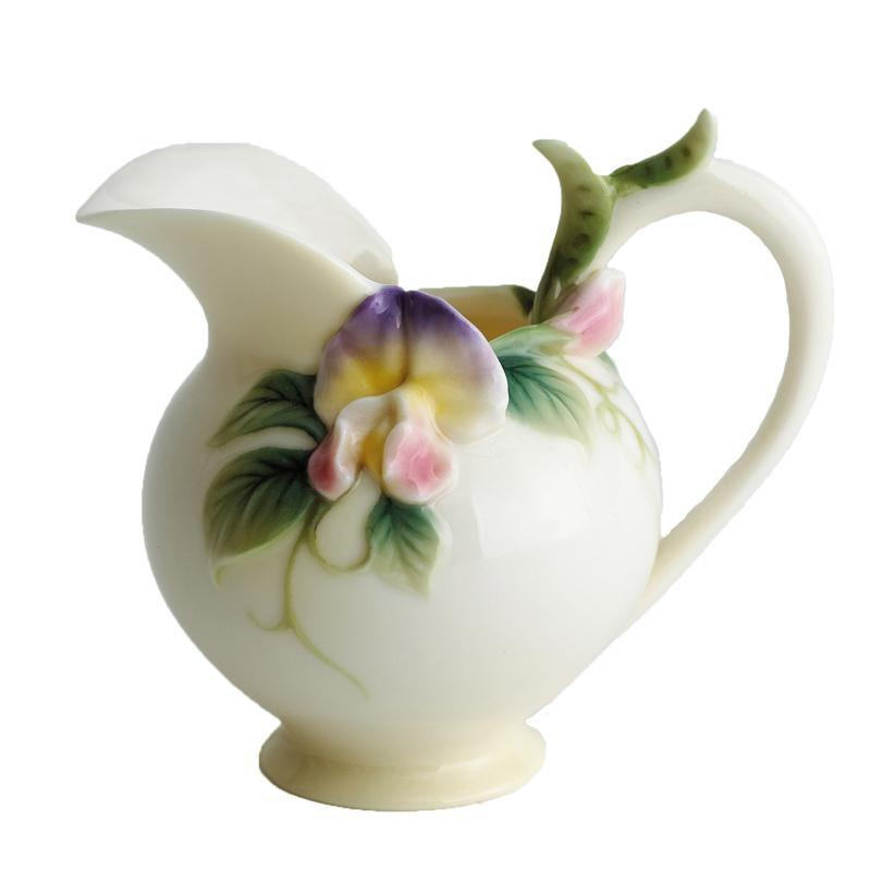 Franz Collection Sweet Pea Creamer FZ00412