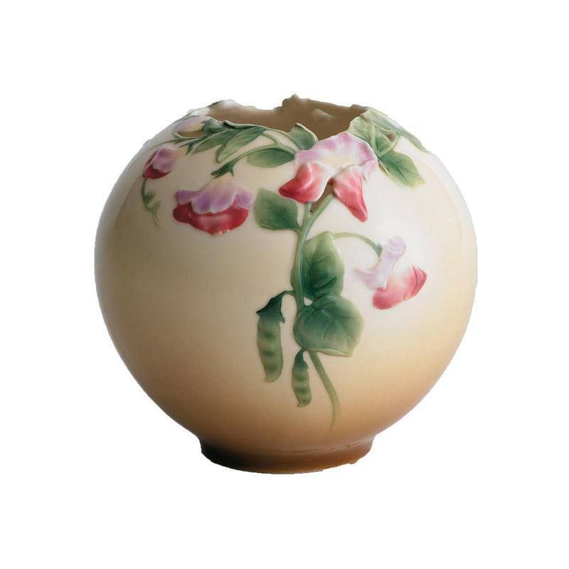Franz Collection Sweet Pea Round Vase XP1891