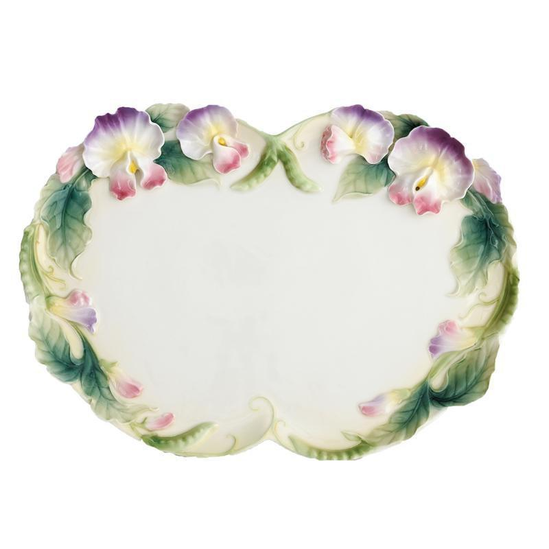 Franz Collection Sweet Pea Tray FZ00779