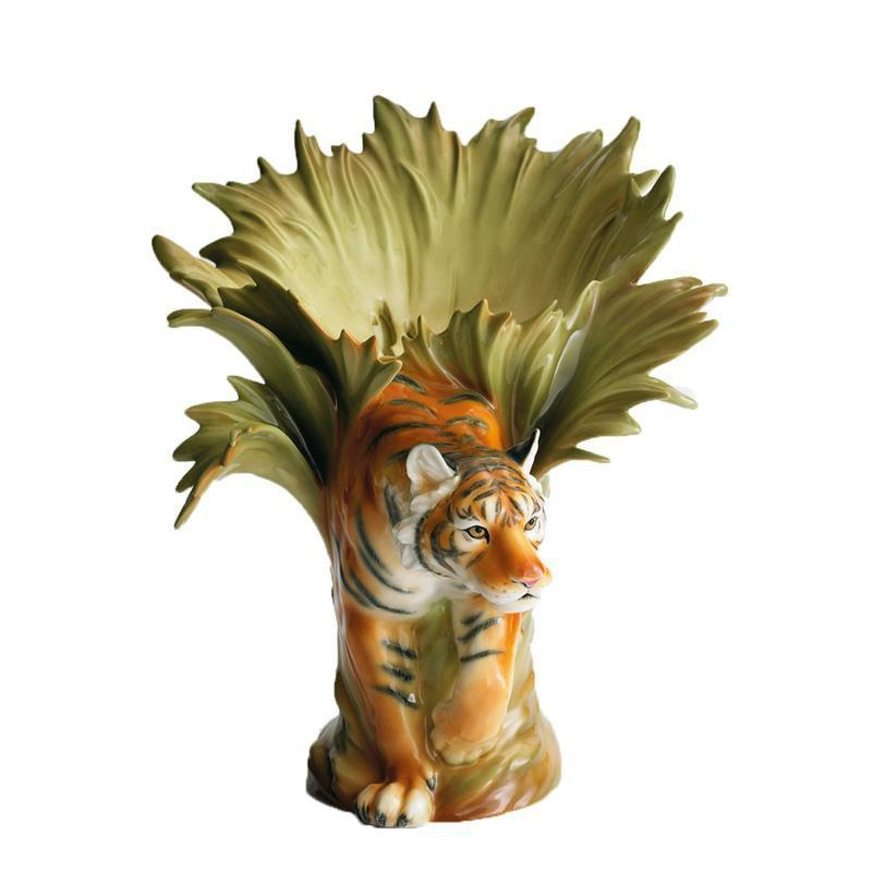 Franz Collection Tiger Vase FZ00154