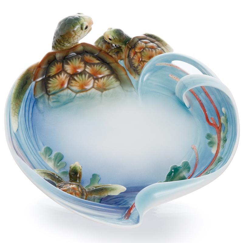 Franz Collection Turtle Bay Plate FZ01863