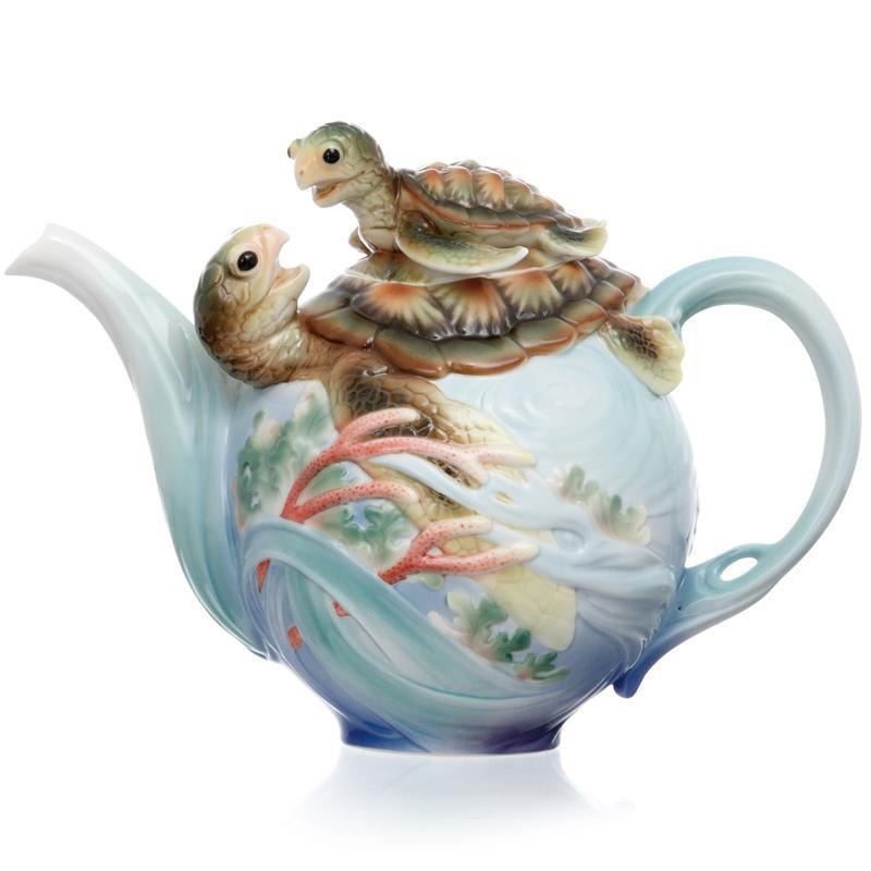 Franz Collection Turtle Bay Teapot FZ01859