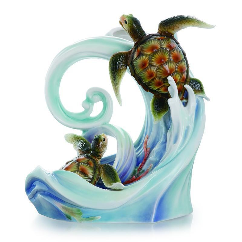 Franz Collection Turtle Bay Vase FZ01862