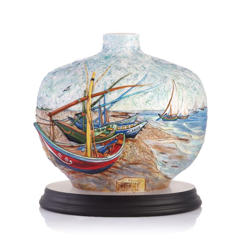 Franz Collection Van Gogh Sailing Vase FZ03289
