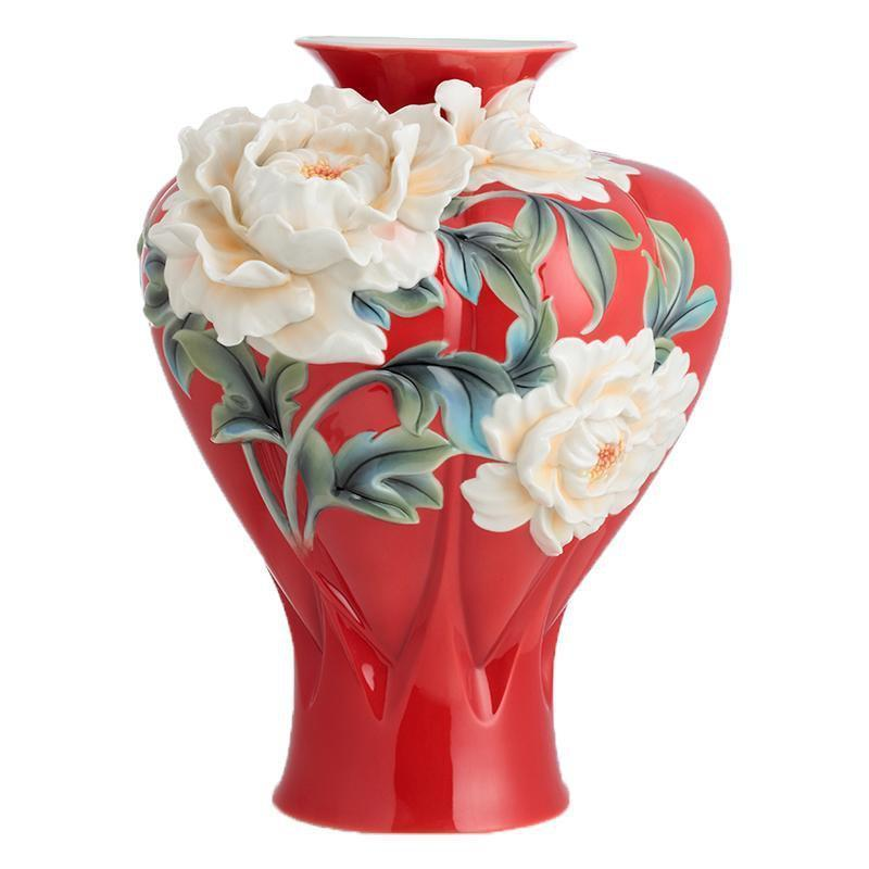 Franz Collection Venice Peony Large Vase FZ02687
